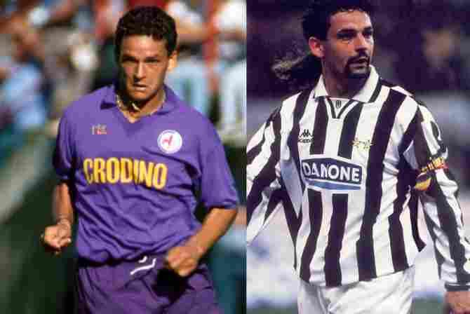 Roberto Baggio (Fiorentina - Juventus)