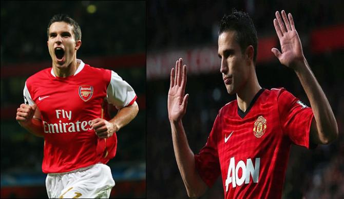 Robin van Persie (Arsenal FC - Manchester United)