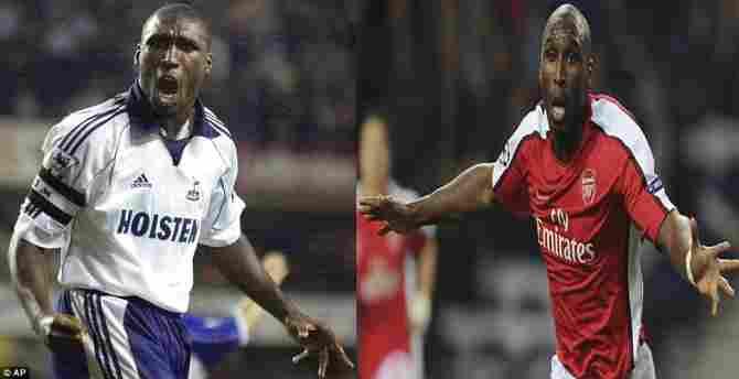 Sol Campbell (Tottenham Hotspur - Arsenal FC)