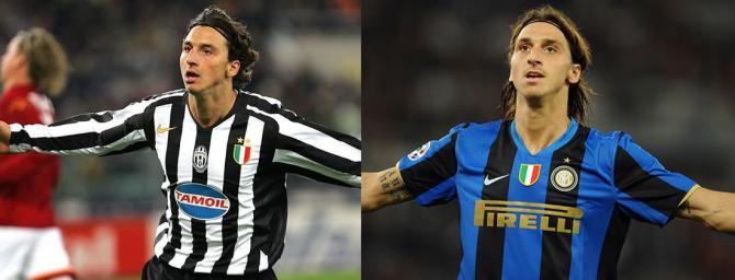 Zlatan Ibrahimovic (Juventus - Inter Mailand)