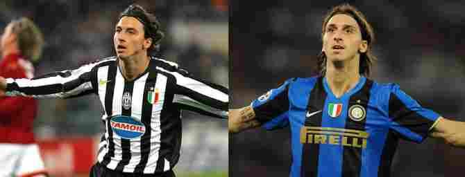 Zlatan Ibrahimovic (Juventus - Inter Milan)