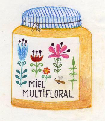 Flower honey or multifloral