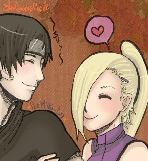 Ino y Sai (Naruto)