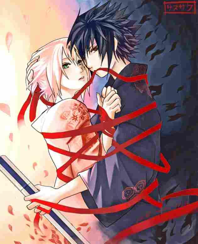 Sakura y Sasuke (Naruto)