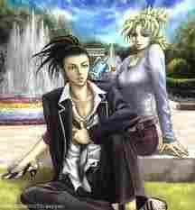 Shikamaru y Temari (Naruto)