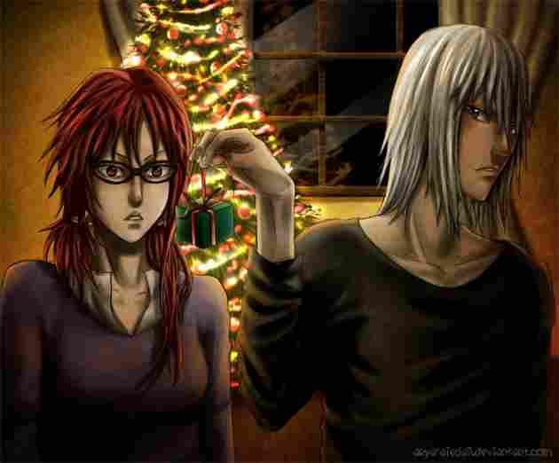 Suigetsu y Karin (Naruto)
