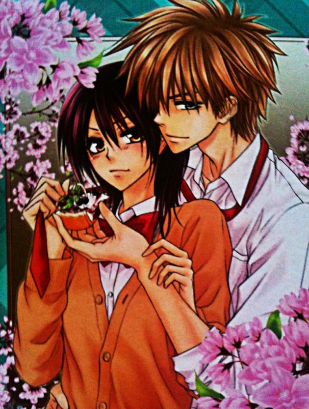 Usui y Misaki (Kaichou wa sama)