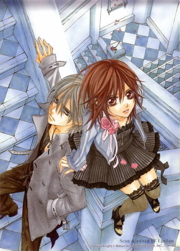 Yuki and Zero (Vampie knight)