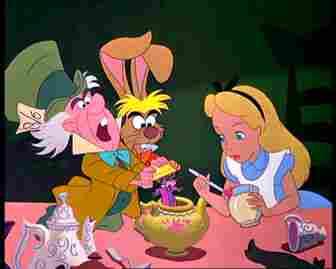 Alice und der verrückte Hutmacher