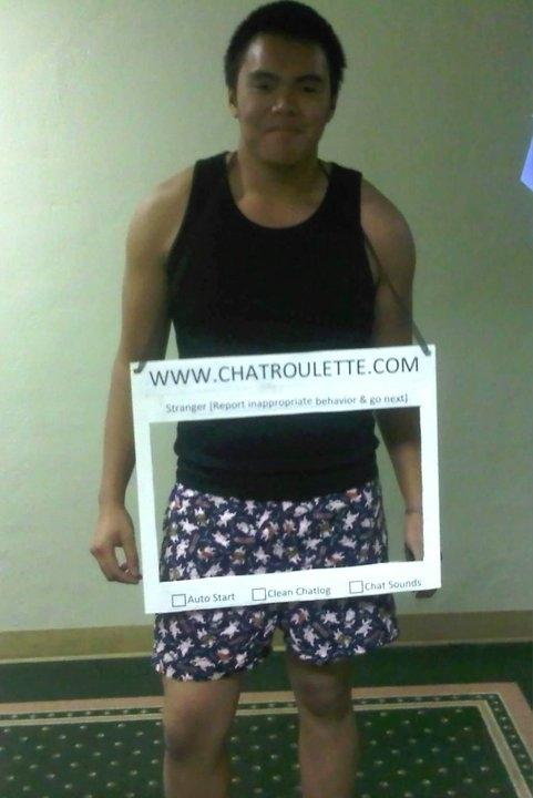Chatroulette trang phục