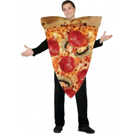 Sepotong pizza