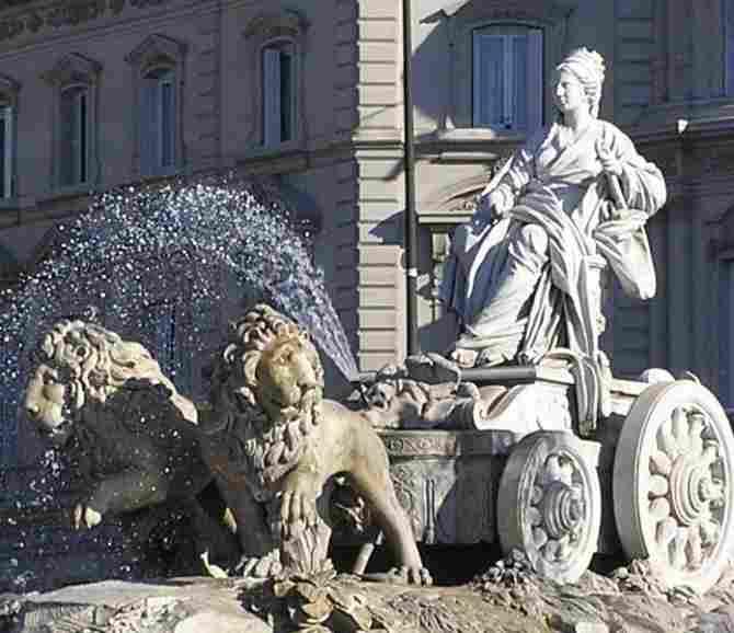 THE CIBELES OF MADRID