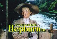 Кэтрин Хепберн.