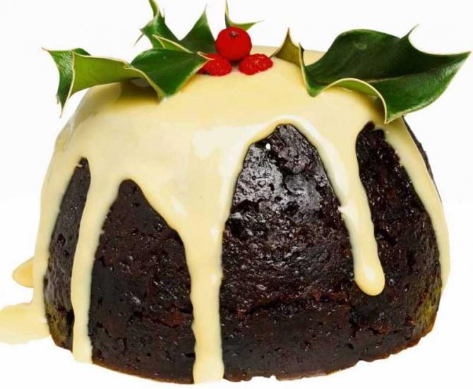 Inglaterra - Pudding navideño