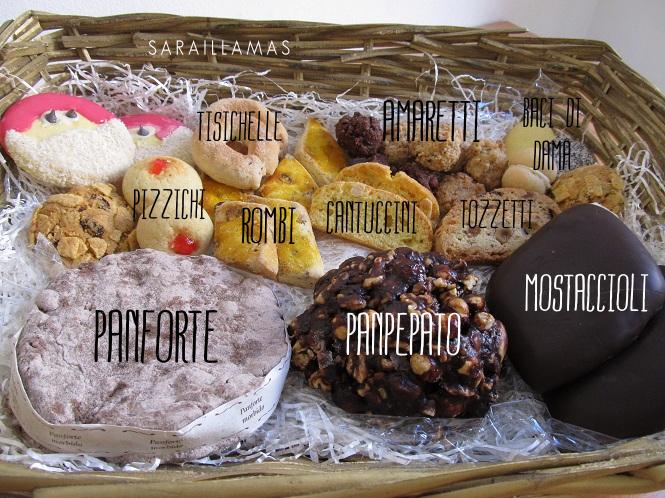 Italien - olika desserter