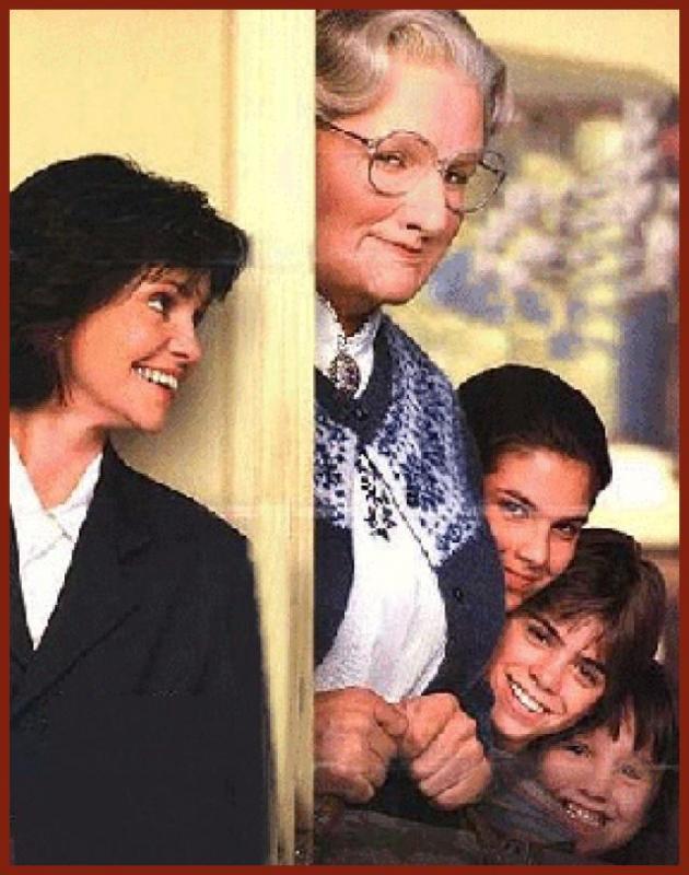 Robin Williams ( Mrs. Doubtfire )