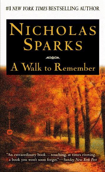 Прогулка, чтобы Помнить, 1999