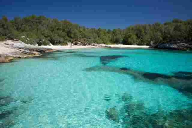 Creek in Turqueta (Menorca)