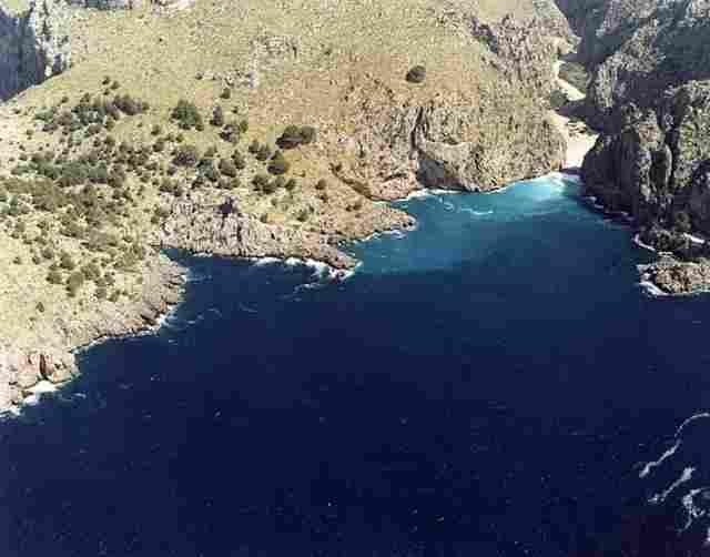 Playa de Sa Calobra de Escorca (Mallorca)