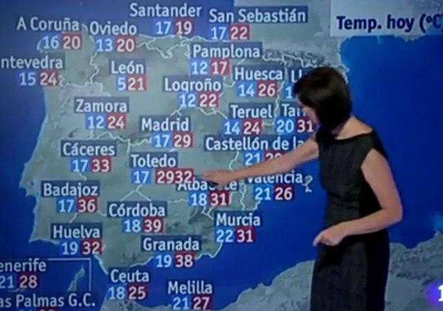 Calor insoportable en Toledo