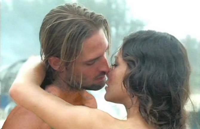 Sawyer and Kate (Lost)