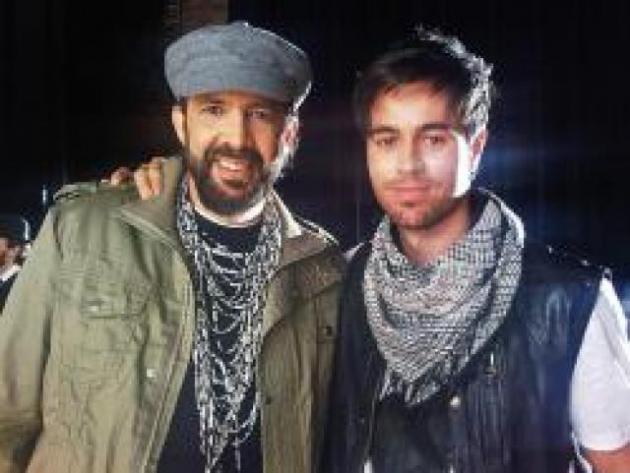 """Enrique Iglesias e Juan Luis Guerra """"Quando eu me apaixono"""""""
