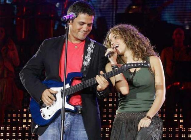 Shakira e Alejandro Sanz