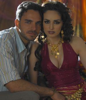 Ana de la Reguera and Manolo Cardona
