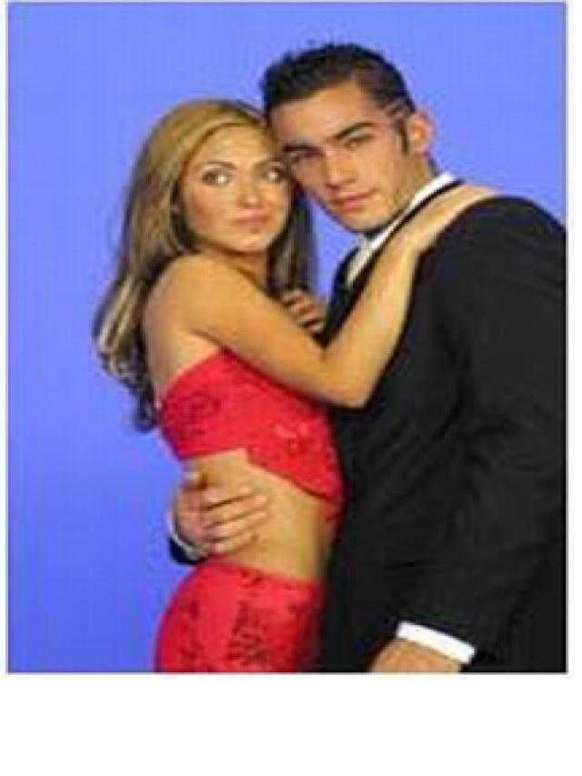 Anahi and Aaron Diaz
