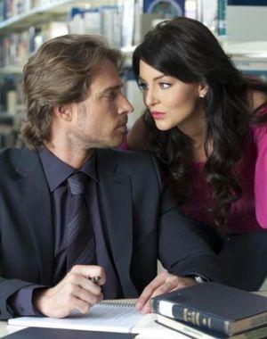 Angelique Boyer and Sebastian Rulli