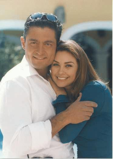 Aracely Arambula and Fernando Colunga