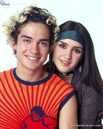Dulce Maria and Alfonso Herrera