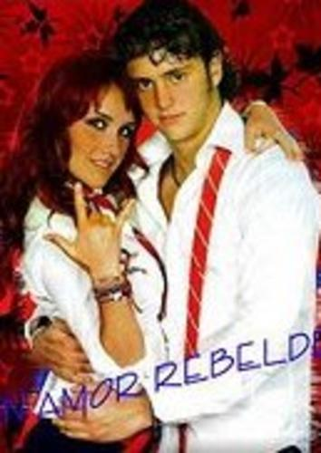 Dulce Maria and Christopher Uckermann