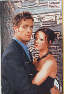 Michel Brown und Natasha Klauss