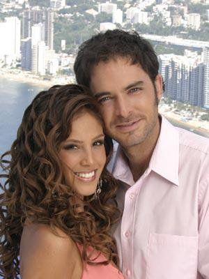 Sandra Echeverria and Manolo Cardona