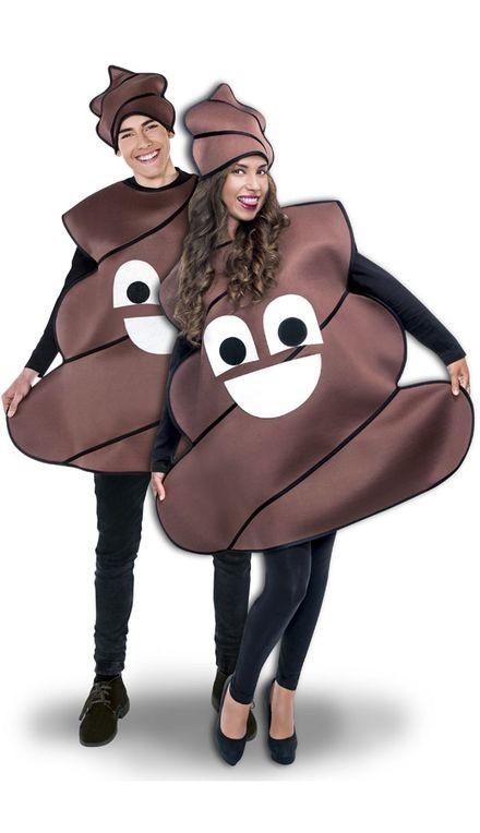 WhatsApp Poop Costume