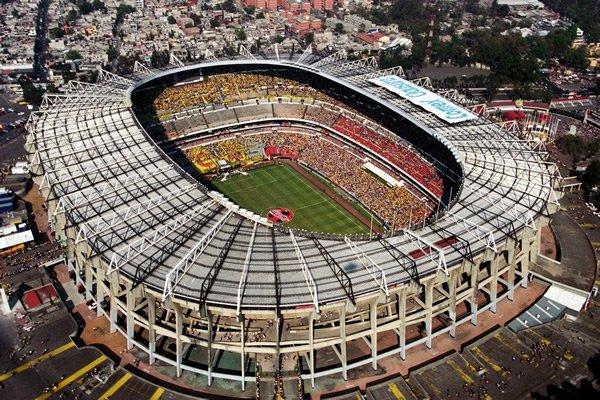 Azteca Stadium - 105,064 spectators
