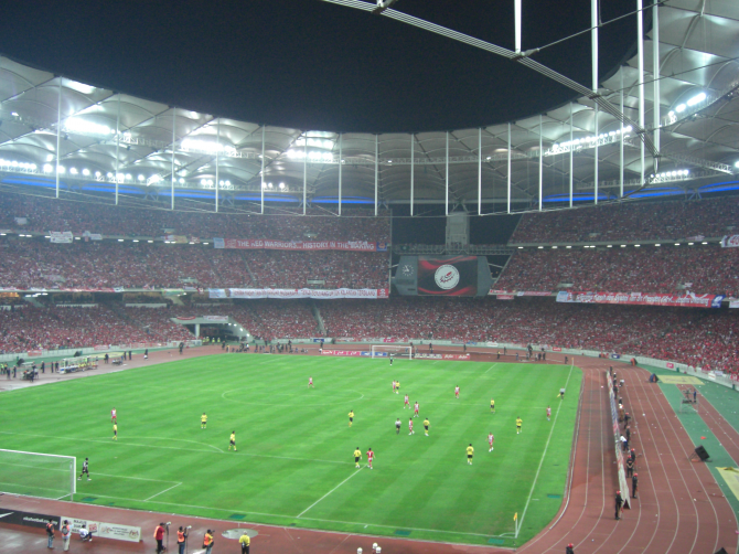 Bukit Jalil National Stadium - 100.200 åskådare