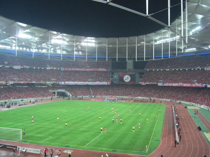 Bukit Jalil National Stadium - 100,200 spectators