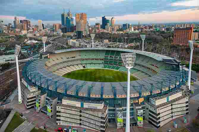 Melbourne Cricket Ground - 100,024 spectators
