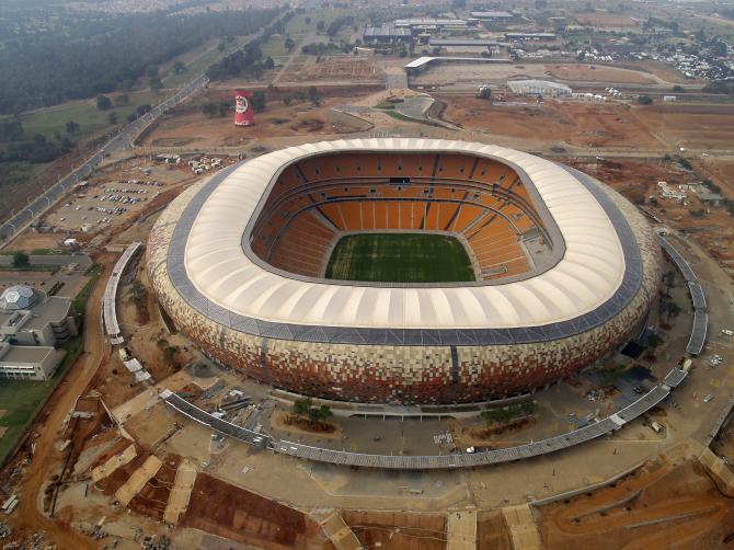 Soccer City - 91,141 spectators
