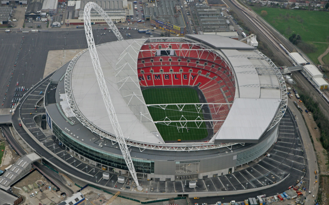 Wembley - 90.000 espectadores