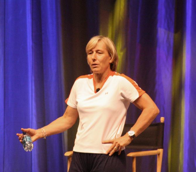 Martina Navratilova (República Tcheca)