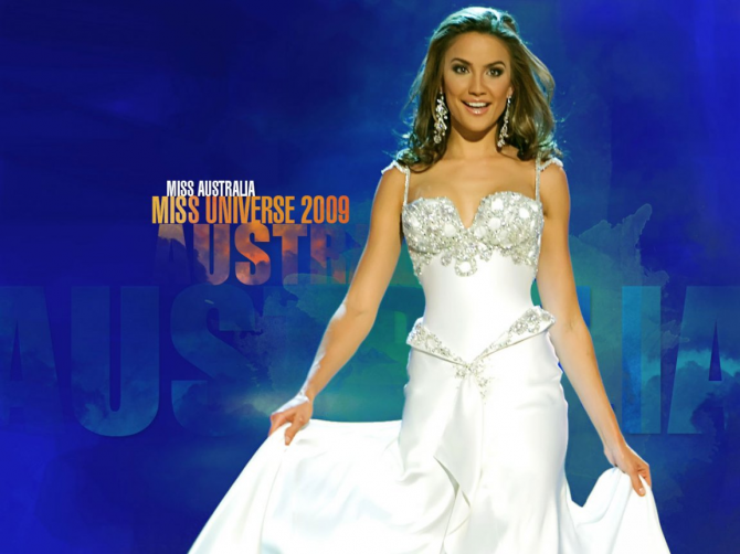 Rachael Rinch - Miss Australia 2009