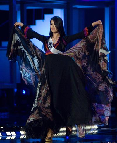 Riyo Mori - Miss Universe 2007