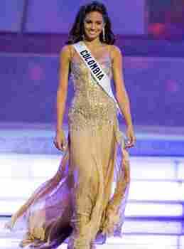 Valerie Dominguez - Miss Colombia 2006