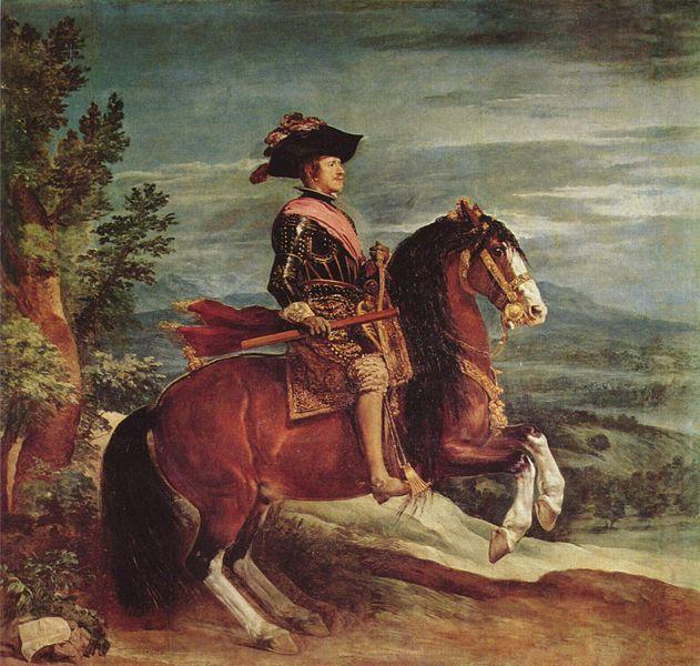 Филипп IV верхом на лошади