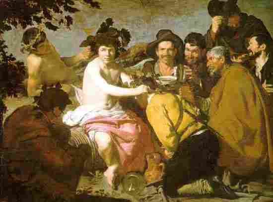 The triumph of Bacchus (The Drunks)