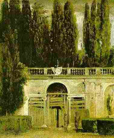 Villa Médicis landscape