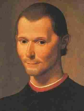 Nicolas Machiavelli (1469-1527)